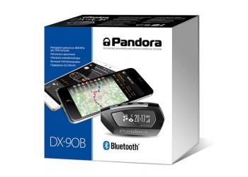 Автосигнализация Pandora DX90B с бесключевым а/запуском, диалоговый код, функция иммобилайзера