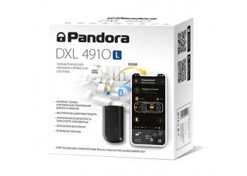 Автосигнализация PANDORA DXL 4910L - телеметрическая охранно-противоугонная система с автозапуском, 2G-GSM-модем
