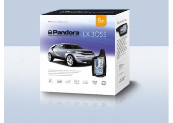 Автосигнализация PANDORA LX 3055 с бесключевым автозапуском Renault/Рено, Kia/Киа, Hyundai/ Хёндай, Lada/Лада. Диалоговый код. Турботаймер. CAN/LIN-интерфейс.