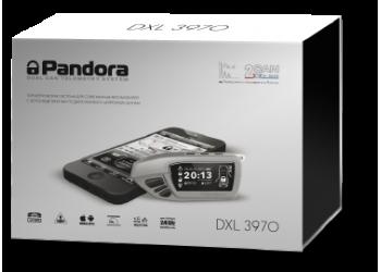 Автосигнализация PANDORA DXL 3970 PRO v.2 с бесключевым автозапуском (технология-Clone), диалоговый код, управление с телефона, функция иммобилайзера, брелок LCD, брелок-метка, CAN-интерфейс.