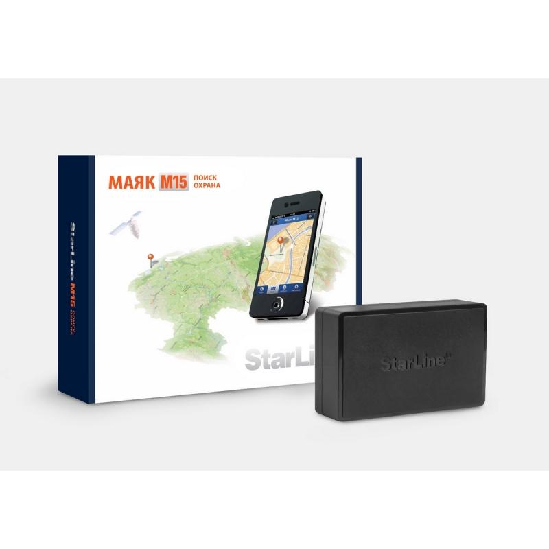 StarLine M15 (эко)  (МАЯК -  определение местоположение автомобиля)