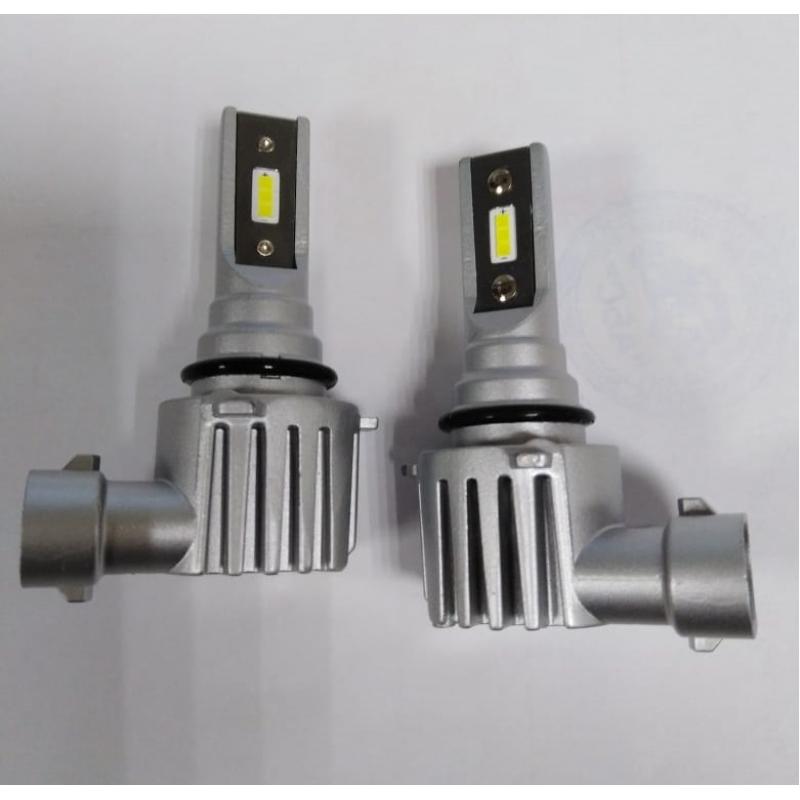 Cветодиодные LED лампы PILOT V12 HB3 - мощность 25Вт, 9-30Вольт, нейтральный белый свет, светоотдача 4000Лм, чип csp Y2121, комплект 2шт, гарантия 6 месяцев