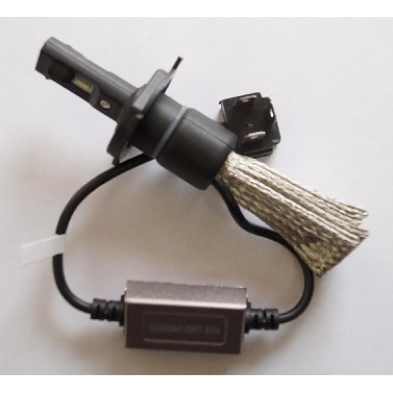 Cветодиодные LED лампы Clearlight Flex H4  5000K головной свет (комплект) для ближнего и дальнего света