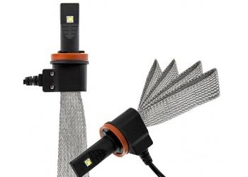 Cветодиодные LED лампы Clearlight Flex H11 5000K головной свет (комплект) для ближнего, дальнего или противотуманного света