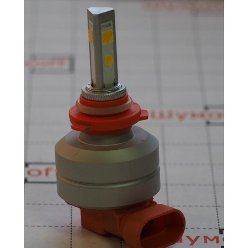 Cветодиодные LED лампы PILOT H11 3000К 5400 lm (2шт.) для ближнего, дальнего или противотуманного света