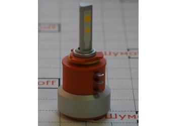 Cветодиодные LED лампы PILOT H15 3000К 5400 lm (2шт.) для ближнего, дальнего или противотуманного света