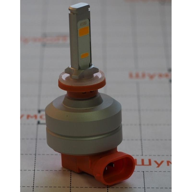 Cветодиодные LED лампы PILOT H27 3000К 5400 lm (2шт.) для ближнего, дальнего или противотуманного света