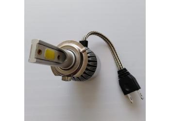 Cветодиодные LED лампы PILOT C6 H7 - нейтральный белый свет, чип COB, комплект 2 шт.