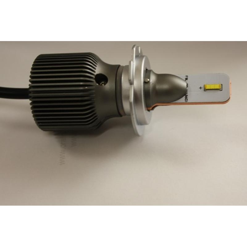 Cветодиодные LED лампы PILOT S5 H7 - мощность 13 Вт, нейтральный белый свет, светоотдача 4000Лм, чип csp Y19, комплект 2 шт.