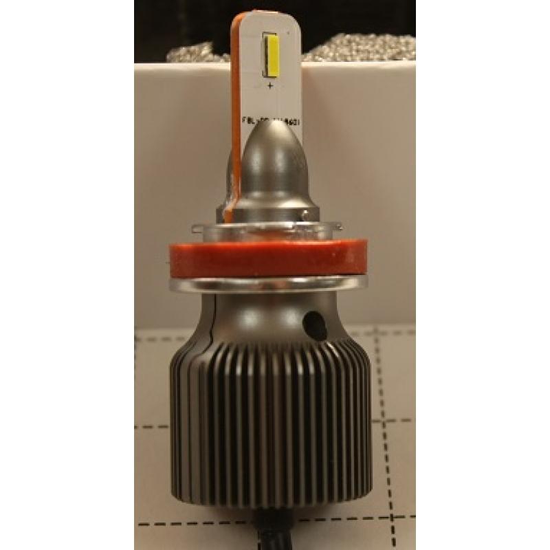 Cветодиодные LED лампы PILOT S5 H11 - мощность 13 Вт, нейтральный белый свет, светоотдача 4000Лм, чип csp Y19, комплект 2 шт.