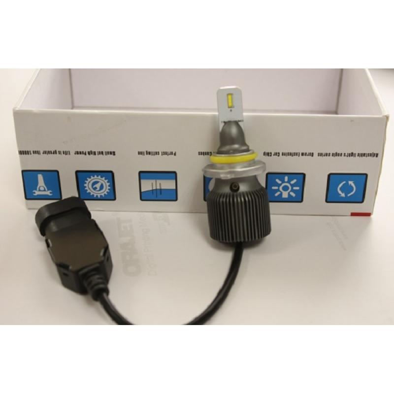Cветодиодные LED лампы PILOT S5 HB4 - мощность 13 Вт, нейтральный белый свет, светоотдача 4000Лм, чип csp Y19, комплект 2 шт.