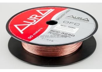 Aura SCC-3250, акустический кабель, 14 AWG ( 2х2,5 мм2), бескислородная медь, бухта 50 м.