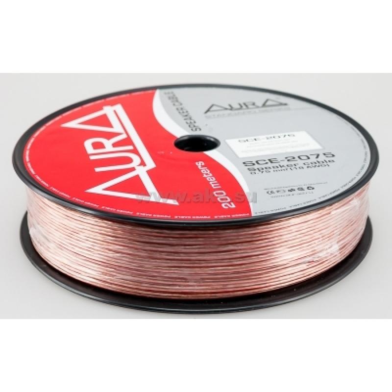 Aura SCE-2075, акустический кабель, 18 AWG ( 2х0,75 мм2), бухта 200 м.