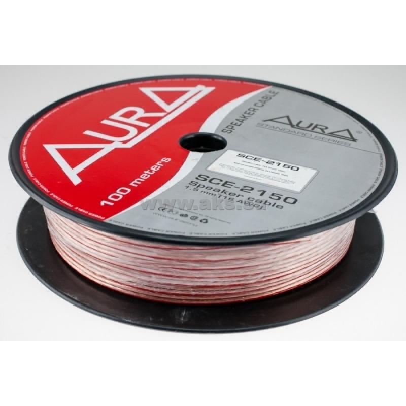 Aura SCE-2150, акустический кабель, 16 AWG ( 2х1,5 мм2), бухта 100 м.