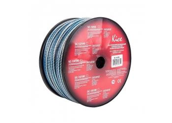 KICX SC-14100 акустический кабель, покрытый оловом, медь 99,9%, 14GA (2,08 кв.мм), бухта 100м.