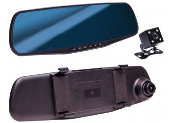 Видеорегистратор зеркало с двумя камерами CamShel DVR 230