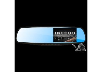 Видеорегистратор зеркало с двумя камерами INTEGO VX-410MR