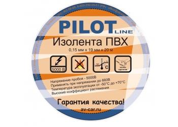 Изолента PILOT Line 0,15ммх19ммх20м черная