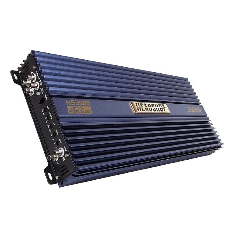 1-канальный усилитель KICX HeadShot 3500, 1х1200Вт 4Ом, 1х3500Bт 1Ом, класс D