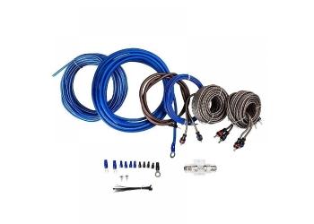 Установочные комплекты проводов KICX PK 48, для 4-х канального усилителя 8Ga