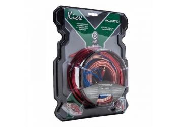 Установочные комплекты проводов KICX AKC10ATC2, для 2-х канального усилителя 10Ga
