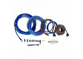Установочные комплекты проводов KICX PK 28, для 2-х канального усилителя 8Ga
