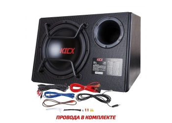 Активный корпусной сабвуфер KICX GT500BPA, 12, 500/1100Вт, 90дБ