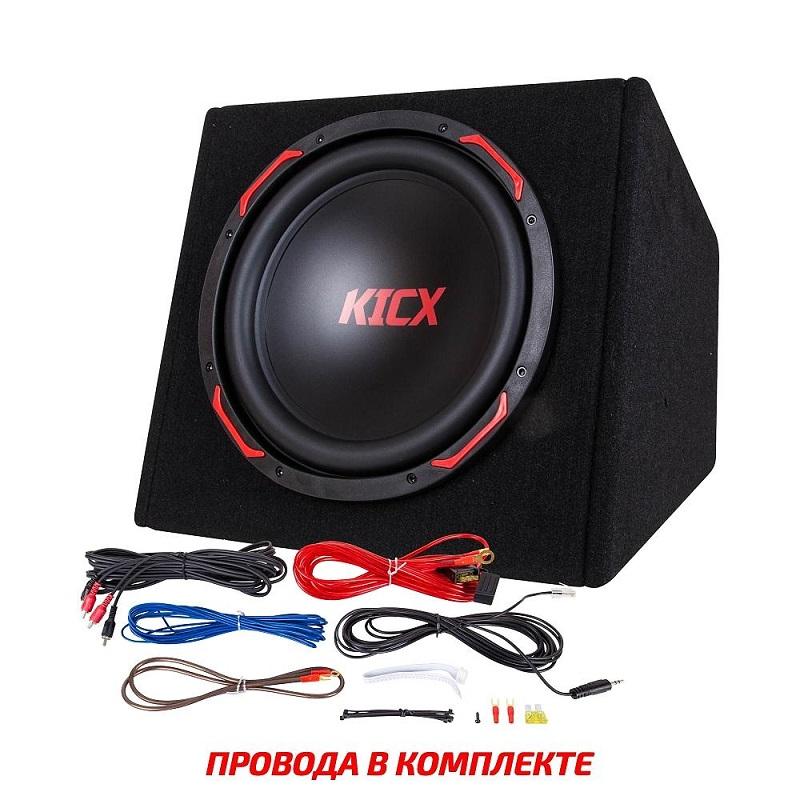 Активный корпусной сабвуфер KICX GT401BA, 12, 400/1000Вт, 90дБ
