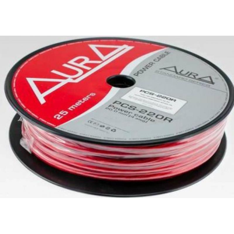 AURA PCS-208R силовой кабель 8Ga (8мм2)