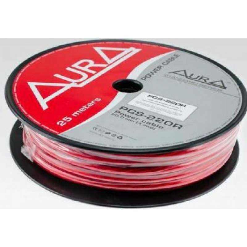 AURA PCS-208B силовой кабель 8Ga (8мм2)