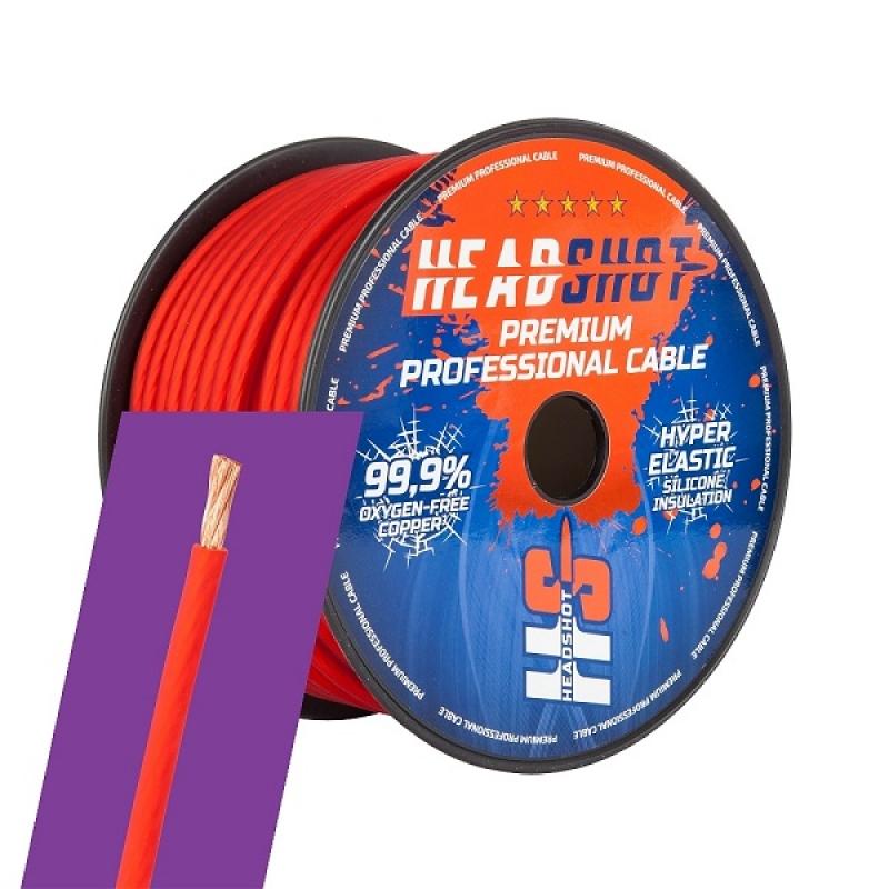 KICX HEADSHOT POFC 8050R Кабель силовой красный, медный, 8GA, 50м.