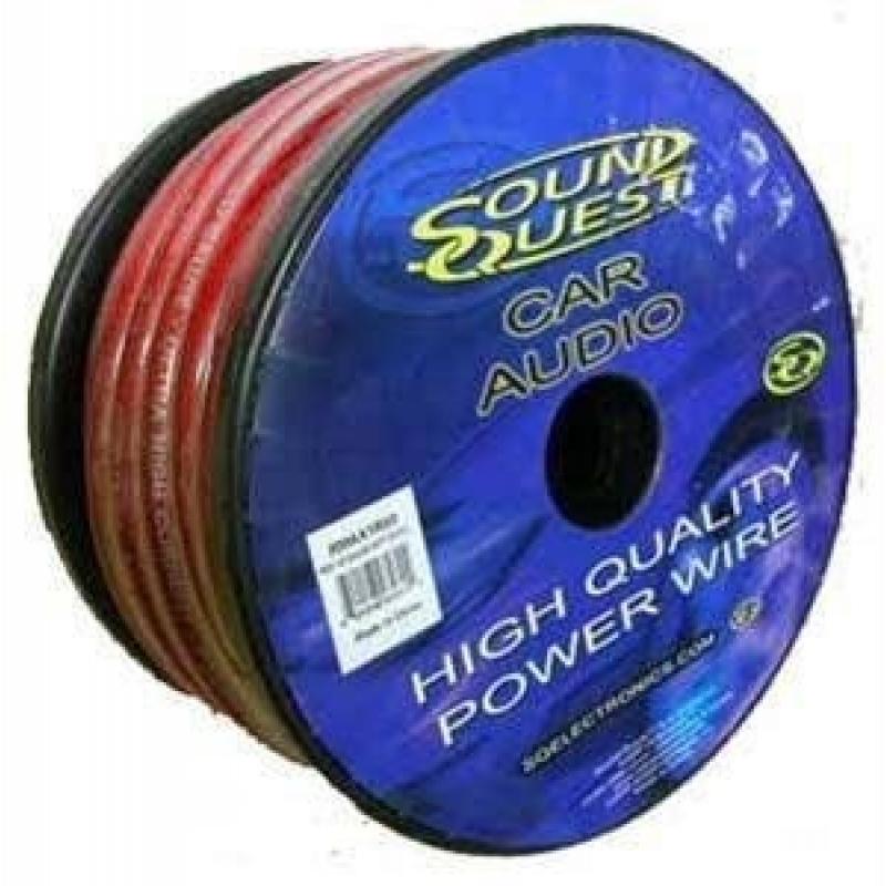 Sound Quest MAX-1R50 силовой кабель 1Ga (43мм2)