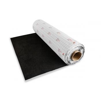 Шумофф Акустик ( Карпет на клеевой основе) цвет Черный, ширина рулона 1,25 м. (цена за 1 погонный метр)