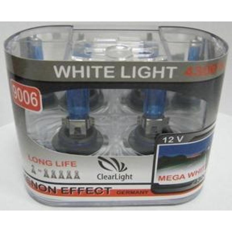 Галогеновая лампа Clearlight H1 WhiteLight  2 шт