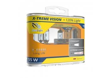 Галогеновая лампа Clearlight  H11 X-treme-vision+120%Light 12V-55W 1 шт.