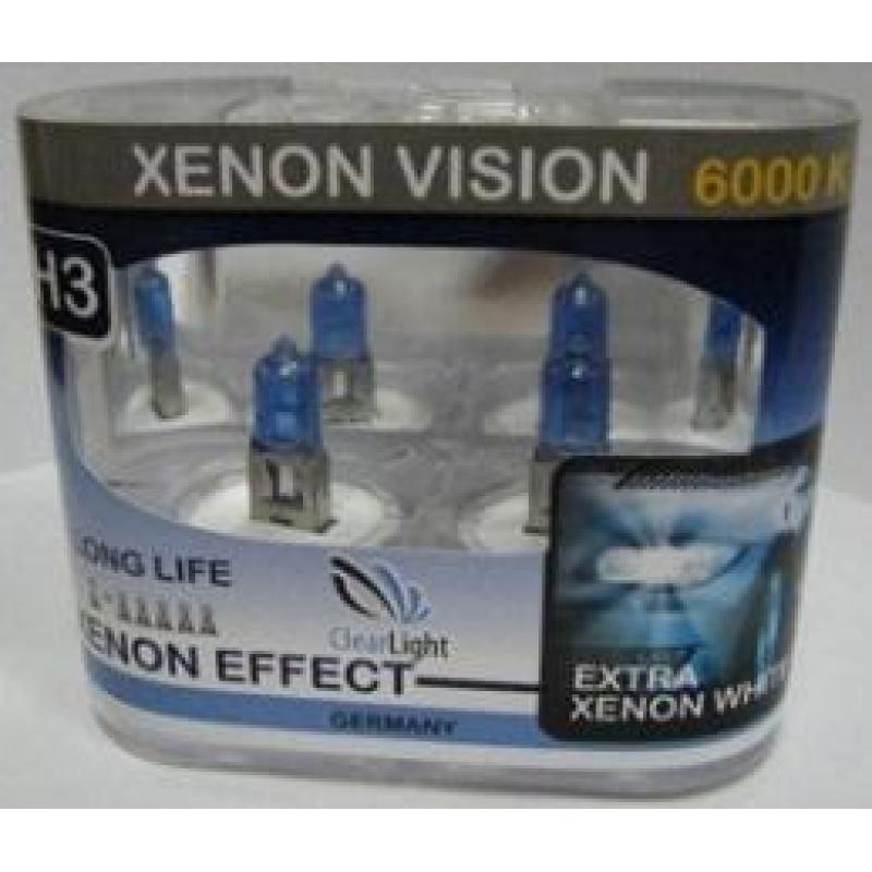 Галогеновая лампа Clearlight  H11  Xenon Vision  2 шт