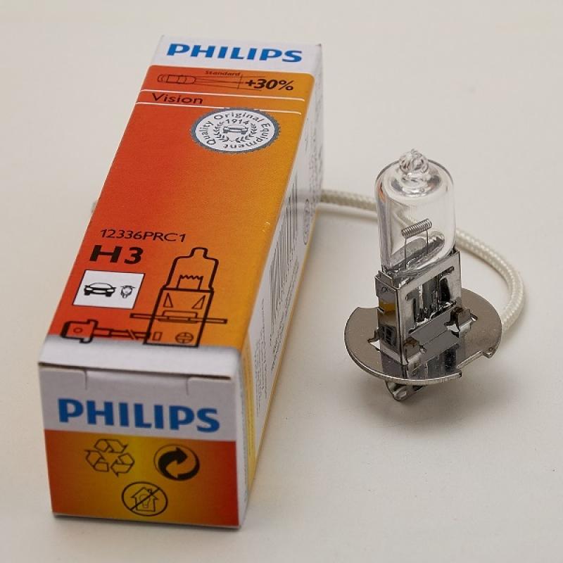 Галогеновая лампа Philips  H3  Premium 1 шт