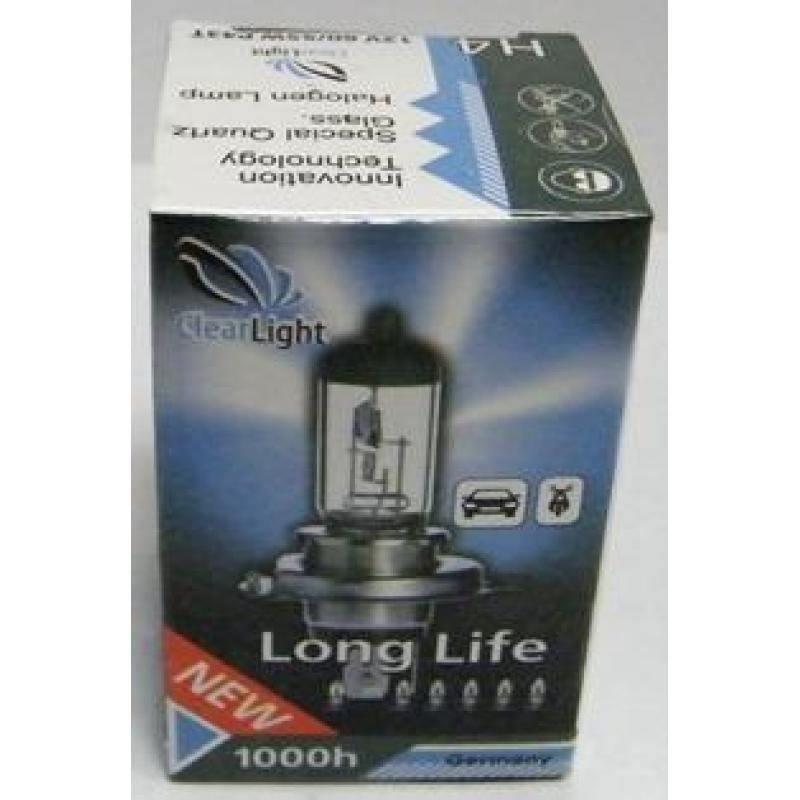 Галогеновая лампа Clearlight  H7  LongLife 1 шт