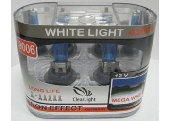 Галогеновая лампа Clearlight  H7 WhiteLight 2 шт
