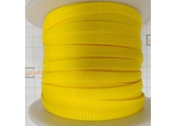 Защитная полиэстеровая оплетка ( змеиная кожа ) PILOT PL-1020 Желтая, диаметр 10мм, цена за 1 метр, в бухте 100 метров