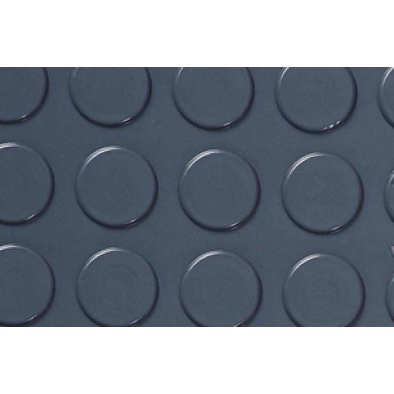 Автолинолеум Автолин Стандарт с пятачками СЕРЫЙ, ширина рулона 1,85м (цена указана за пог.м.)
