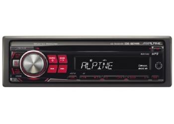 Автомагнитола ALPINE CDA-9874RR, 1DIN, CD/MP3-проигрыватель, 4X50Вт, AUX-вход, (распродажа)