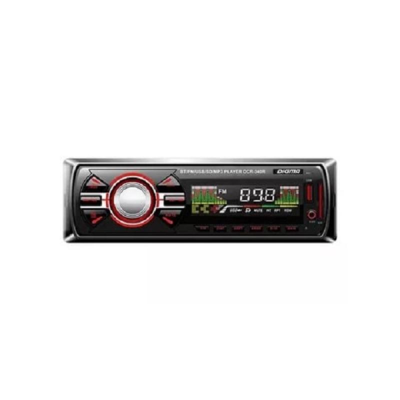 Автомагнитола Digma DCR-340R, 1DIN, 4X45Вт, USB/SD, AUX-вход