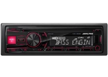 Автомагнитола ALPINE CDE-180RR, 1DIN, CD/MP3-проигрыватель, 4X50Вт, USB, AUX-вход