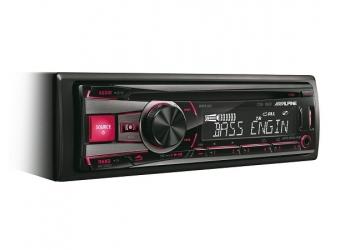 Автомагнитола ALPINE CDE-192R, 1DIN, CD/MP3-проигрыватель, 4X50Вт, USB, AUX-вход