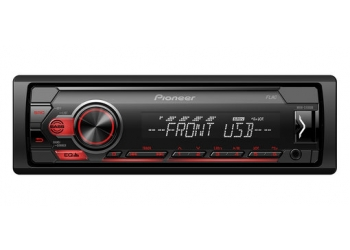 Автомагнитола PIONEER MVH-S110UB, 1DIN, 4X50Вт, USB, AUX-вход, с поддержкой FLAC