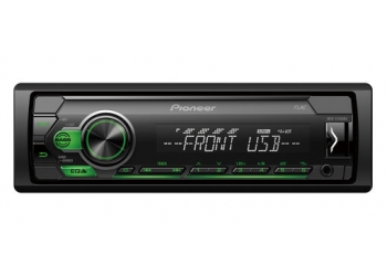 Автомагнитола PIONEER MVH-S110UBG, 1DIN, 4X50Вт, USB, AUX-вход, с поддержкой FLAC