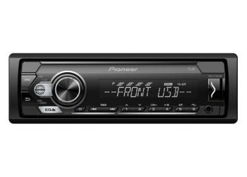 Автомагнитола PIONEER MVH-S110UBW, 1DIN, 4X50Вт, USB, AUX-вход, с поддержкой FLAC