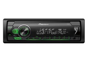 Автомагнитола PIONEER MVH-S110UIG, 1DIN, 4X50Вт, USB, AUX-вход, с поддержкой FLAC