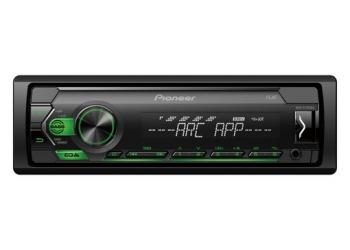 Автомагнитола PIONEER MVH-S120UBG, 1DIN, 4X50Вт, USB, AUX-вход, с поддержкой FLAС